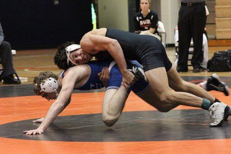 Wrestling dominates Pratt CC Dual