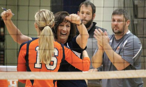 Allen retires after 18 seasons as volleyball coach