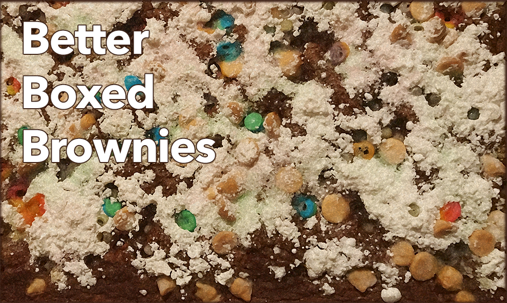 College Kitchen: Better Boxed Brownies