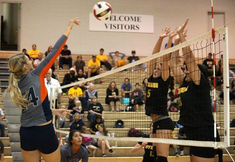 Volleyball swept in Baker Invitational