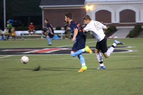 Men's soccer wins 3-2 in double overtime