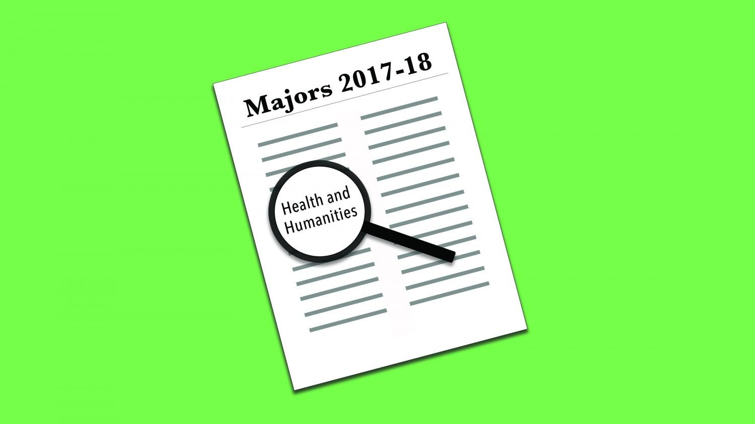 Health and humanities major added for 2017-18