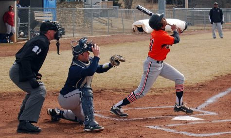 Baseball team drops home opener