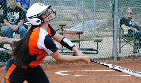 Softball splits home opener with William Woods