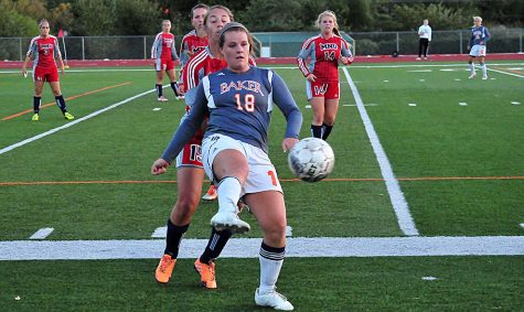 Soccer teams take on conference rival