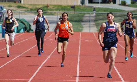 Track teams take first at home meet
