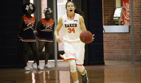 No. 8 women's basketball defeats Peru State