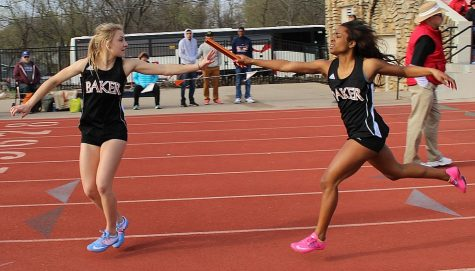 Track and field teams take on Tabor and Kansas Relays