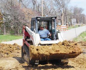 Construction causes delays