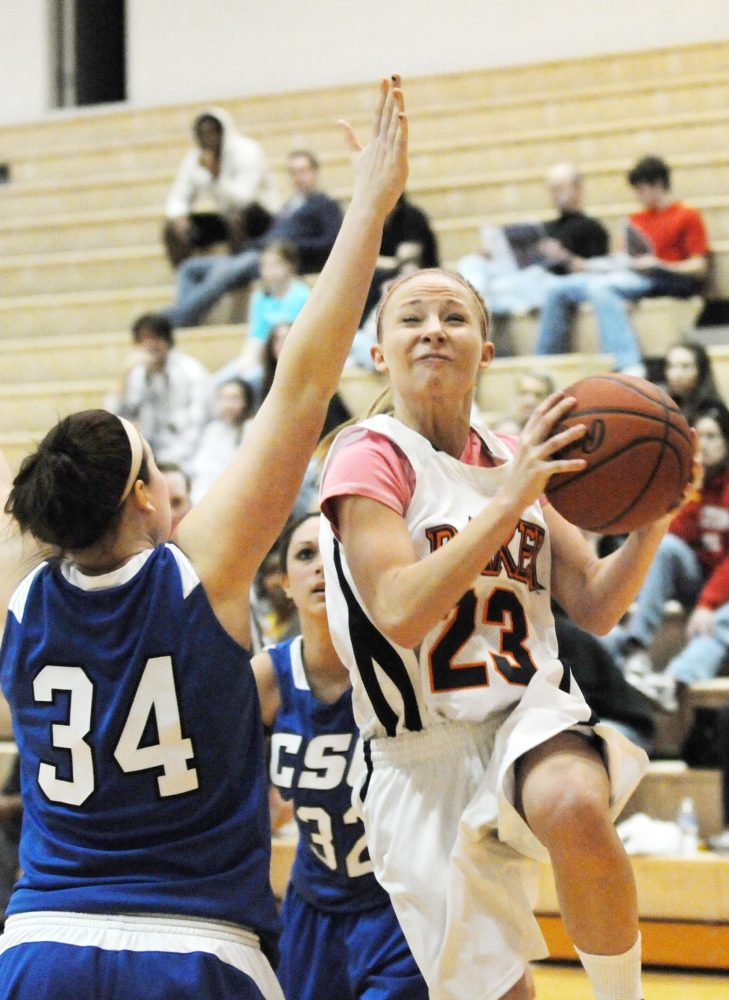 Baker women's basketball eliminated from playoffs
