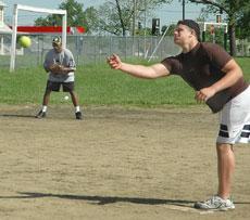 P.E. classes teach basic sports skills