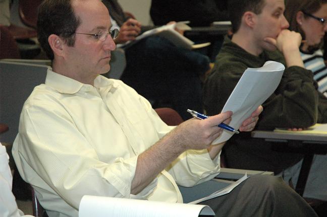 Liberal studies model presented to Baker University faculty