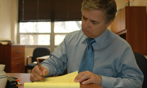 Randy Pembrook plans for Higher Learning Commission
