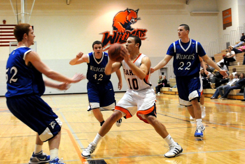 Men's basketball team sinks Culver-Stockton