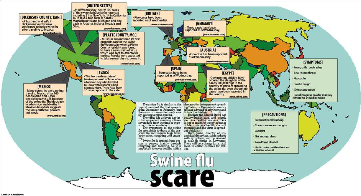 Swine flu scare – The Baker Orange on indiana rabies map, indiana gas map, indiana district map, indiana hiv map, indiana time map, indiana lyme disease map,