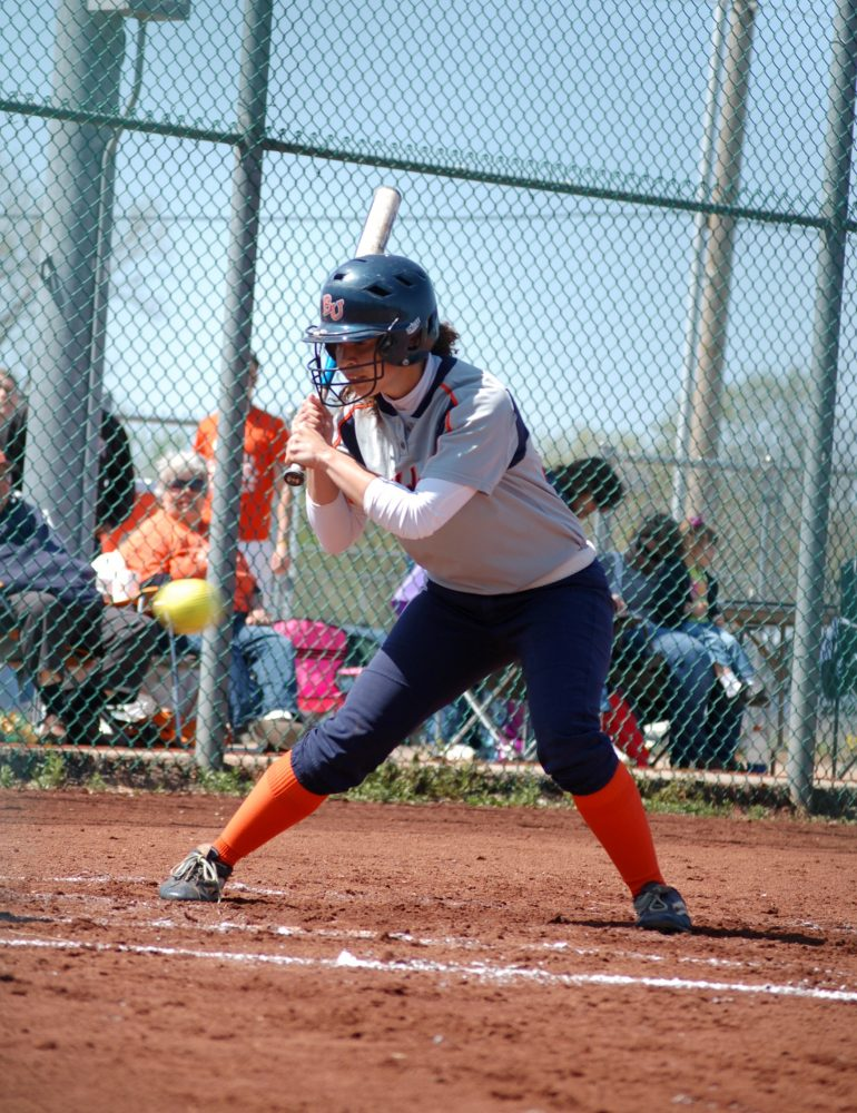 Baker softball team eyes conference lead