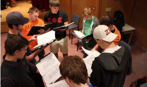 Choir men set high standards for concert