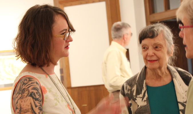 Baldwin City native comes home for art show