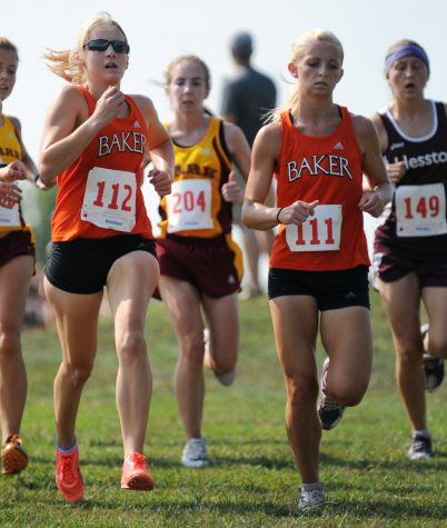 Cross country team sweeps Baker University Open