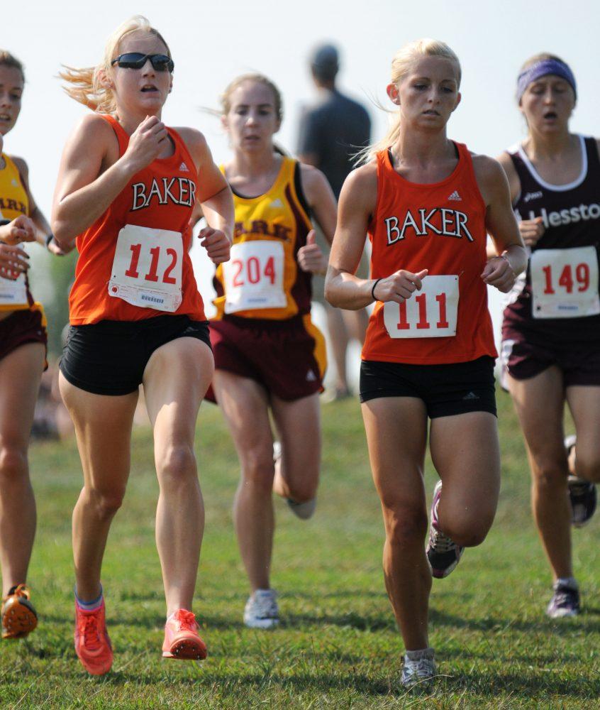 Cross country team sweeps Baker University Open
