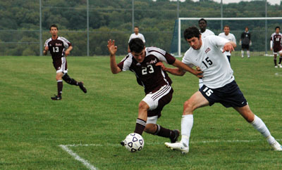Undefeated men's soccer team jumps to No. 6