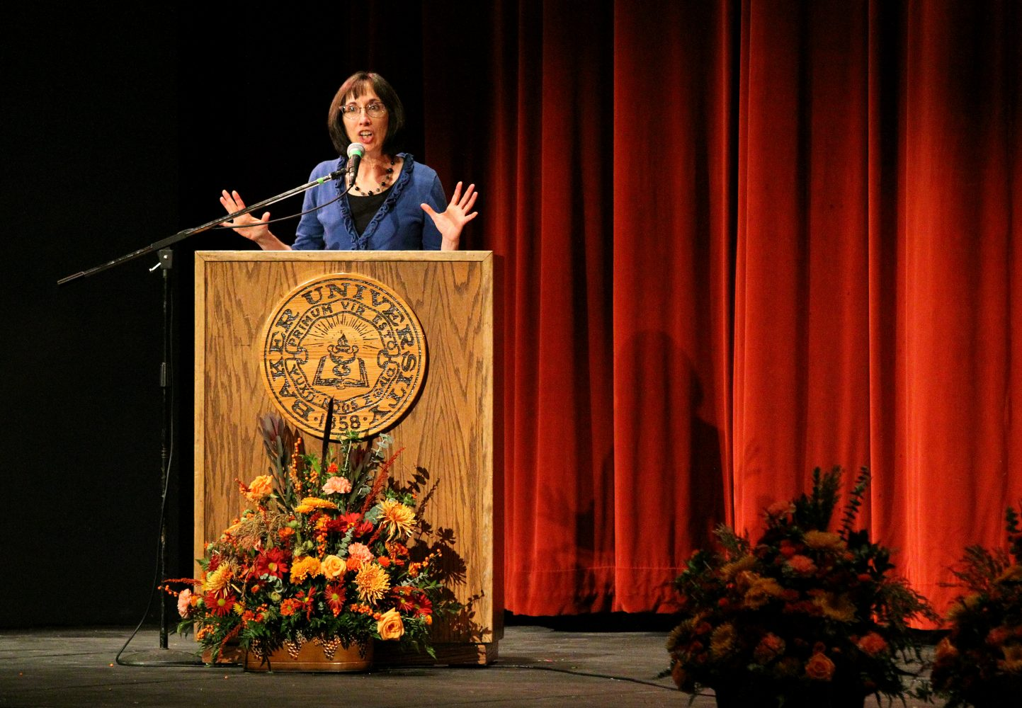 Last Lecture emphasizes role models, heroes