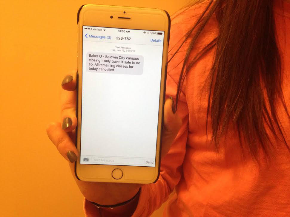 B-alert system aims to keep campus informed