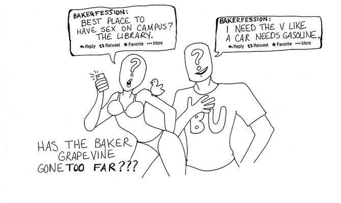 BakerFession belittles BU's reputation