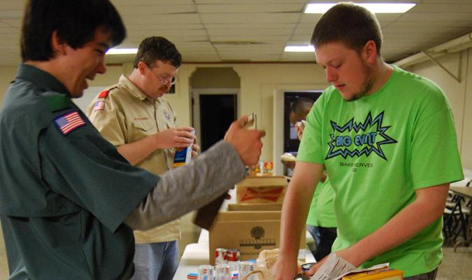 Students participate in Big Event