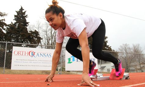 Indoor track sends nine to nationals