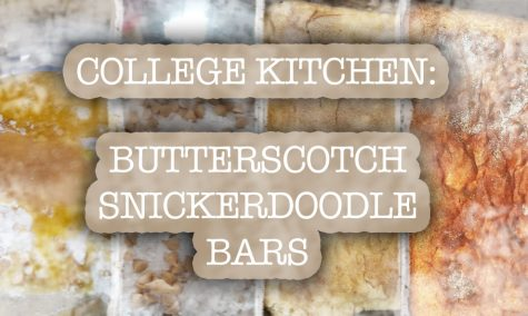 College Kitchen: Butterscotch Snickerdoodle Bars