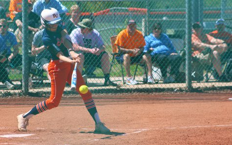 Softball team swept by Evangel
