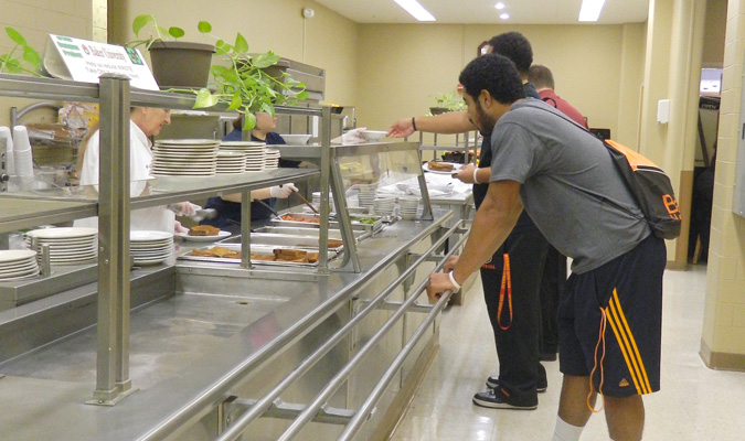 Sodexo to take over dining services