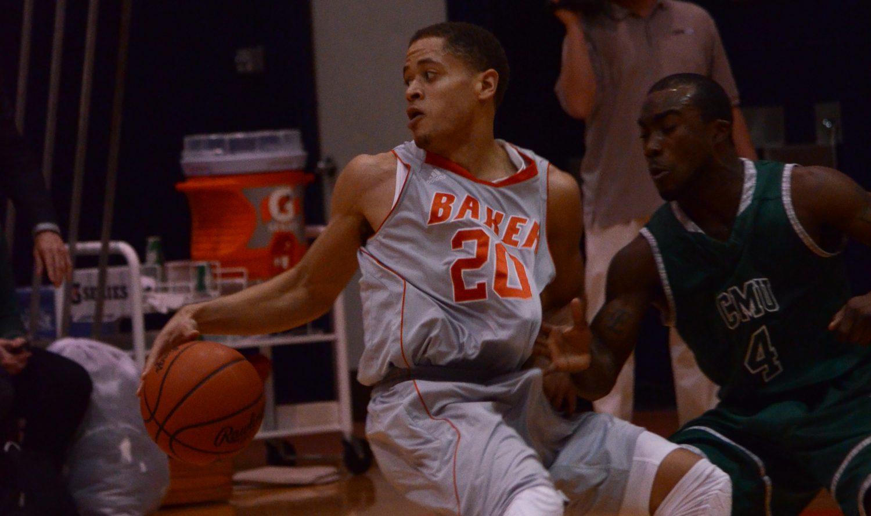 Men's basketball clips Eagles 65-55
