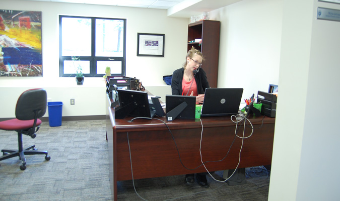 Denious renovations beneficial to admissions office, campus visitors