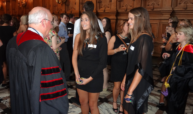 Students experience Harlaxton culture