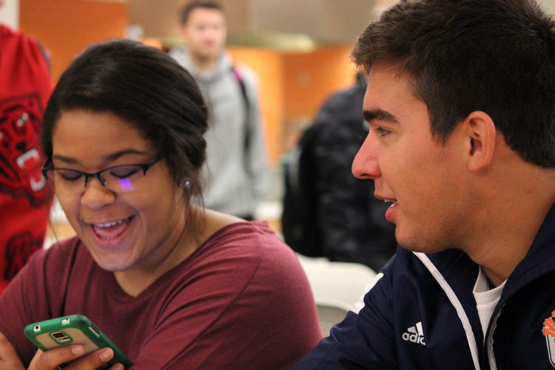 Campus visits make lasting impressions