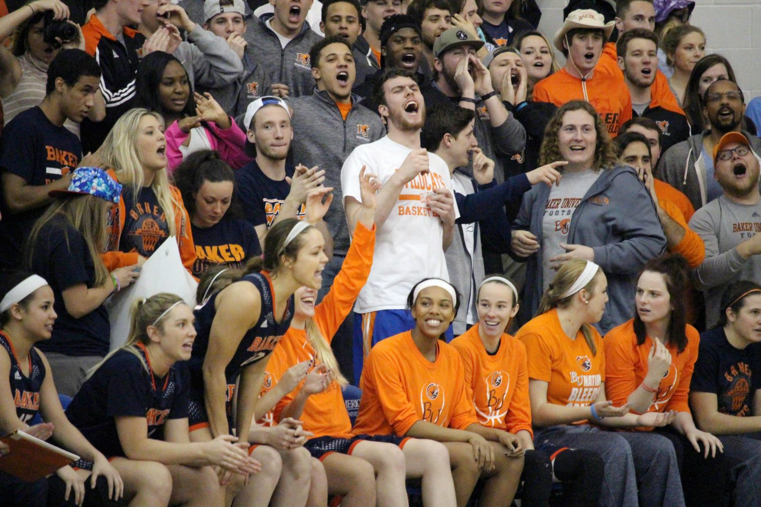Student section sometimes needs more enthusiasm