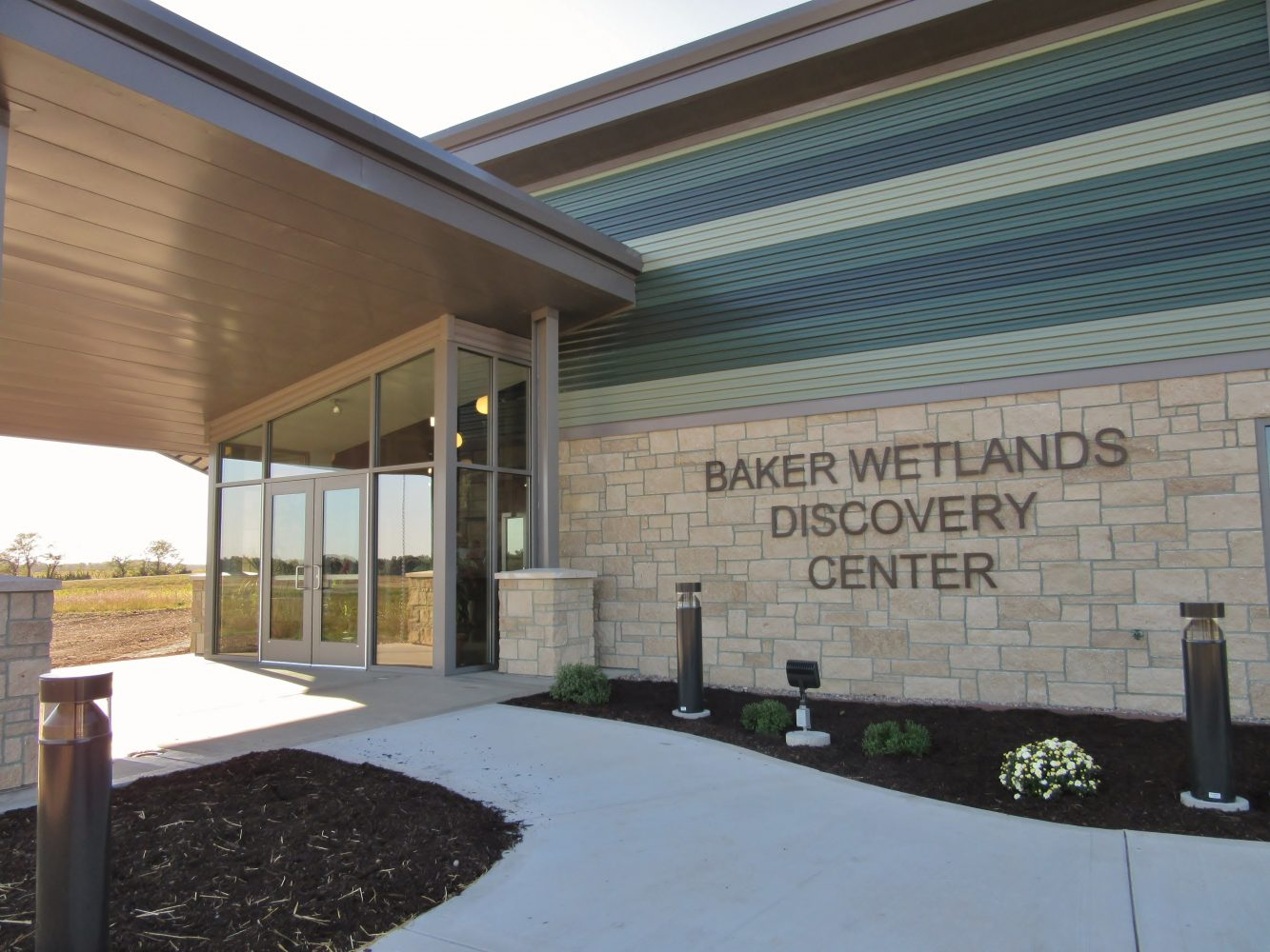 Discovery Center opens in Baker Wetlands