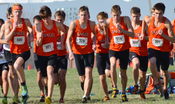 Men's cross country team clinches HAAC title