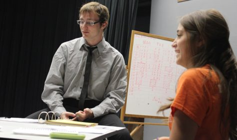 Directing class prepares one-act plays