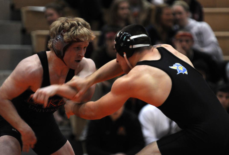 Senior wrestlers shine in showdown