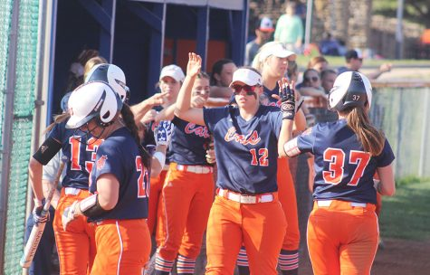 Softball team wins doubleheader over McPherson