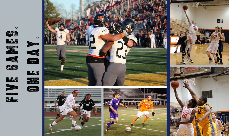 Five BU teams to host games on Saturday