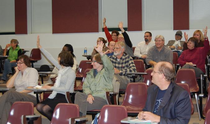 Faculty discusses new EPC calendar