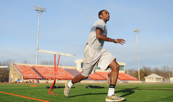 Track athletes attempt to hit standards