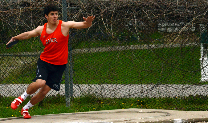 Track teams host back-to-back meets