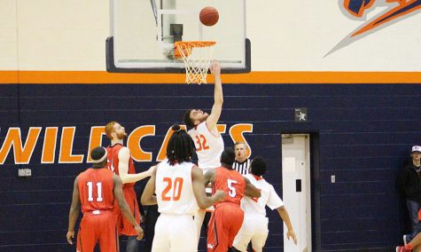 Men fall 75-64 in first game of 2015