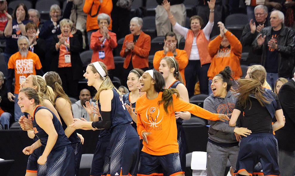 Women advance to national quarterfinals
