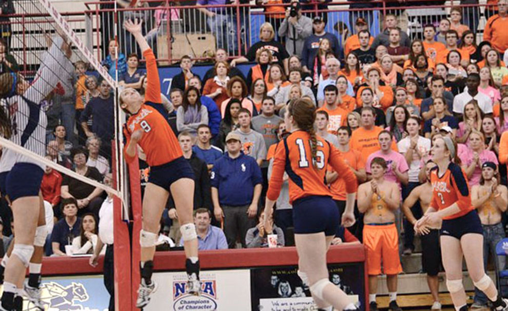 2014 Volleyball Preview – The Baker Orange